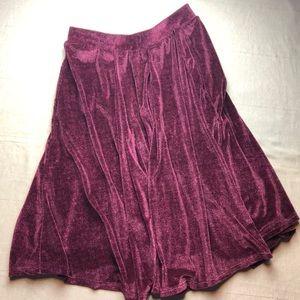 Velvet Lularoe Madison skirt